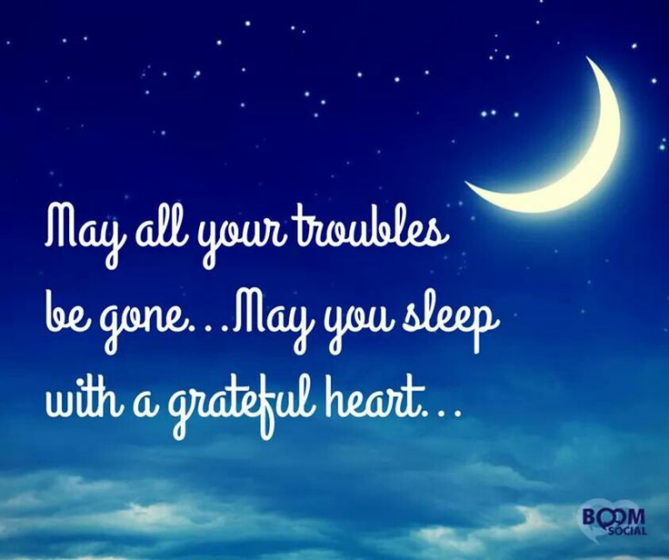 sleep grateful heart